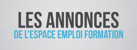Les offres d'emploi de l'Espace Emploi Formation de Rumilly
