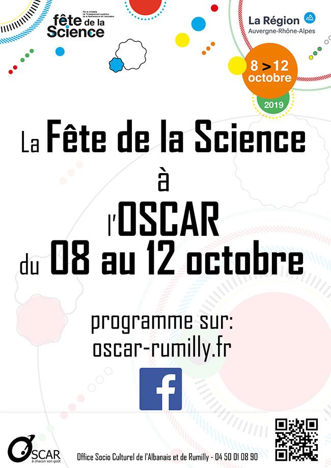 Fête de la science Oscar Rumilly