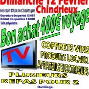 Loto du Football Club de Chautagne ce dimanche.