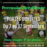 Cours d'essai gratuit de percussion brésilienne