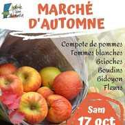 Marché d'automne de Marcellaz Albanais