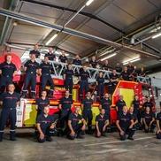 Vente des calendriers des sapeurs pompiers de Rumilly