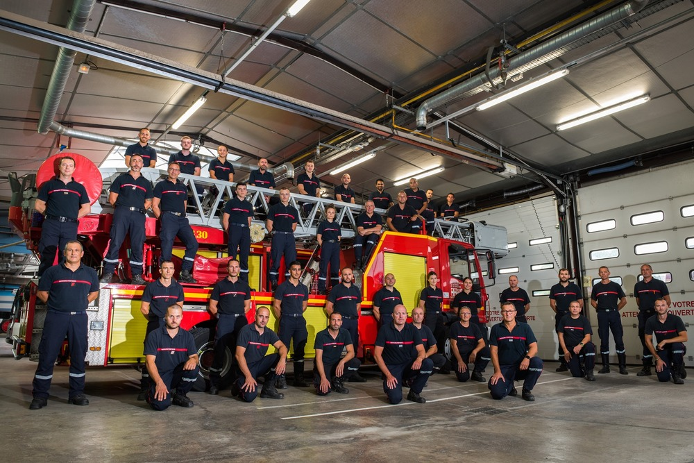 Calendrier 2021 pompiers rumilly