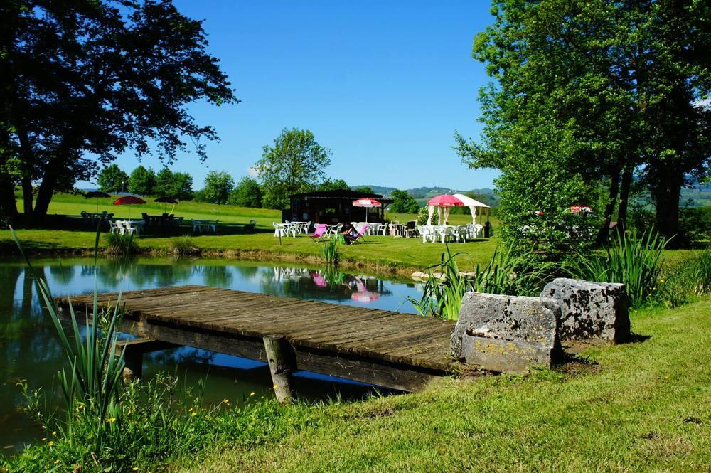 Fraicheur de l'étang Bloye Marigny