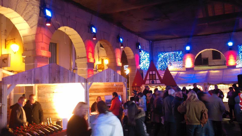 Marché de Noël Place Grenette Rumilly