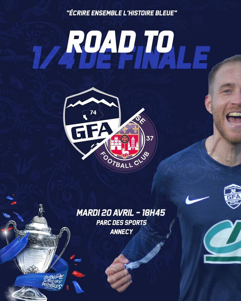 Match GFA Rumilly Toulouse