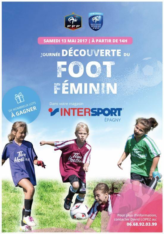 Journée football féminin épagny