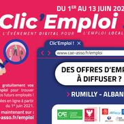 Clic'Emploi, l'événement pour l'emploi local
