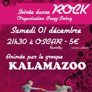 Soirée Rock et stages de danse à l'OSCAR
