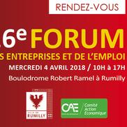 16e Forum des entreprises et de l'emploi de Rumilly