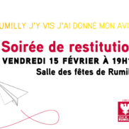 Consultation des habitants de Rumilly : la suite
