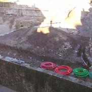Le chantier du jardin public de centre-ville de Rumilly a du retard