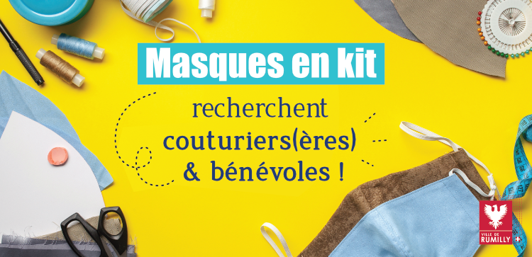Masques tissu Rumilly