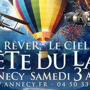 Fête du Lac d'Annecy : modalités d'accès à Annecy