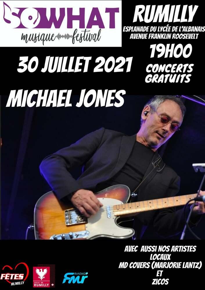 Michael Jones concert Rumilly