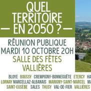 Intercommunalité : Quel territoire en 2050 ?