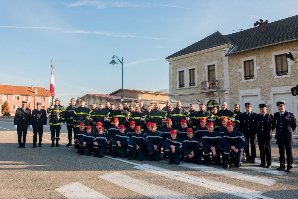 Amicale pompiers Seyssel ain