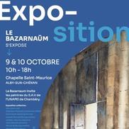 Exposition Bazarnaüm à alby Sur Chéran