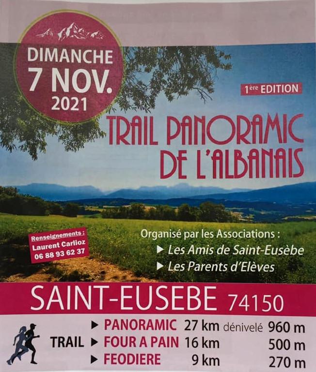 Trail Panoramic de l'Albanais