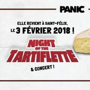 Soirée tartiflette et concert par Panic! Events à St Félix