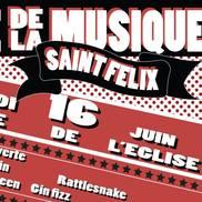 Fête de la musique à St Félix