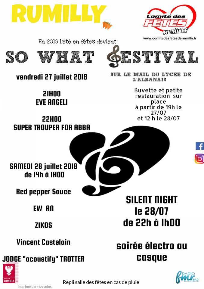 So What festival Rumilly
