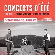 Concert d'été gratuit à Alby : Ariane Gypsy Bastards /  ...