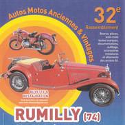 Rassemblement auto et moto anciennes et vintages à Rumilly