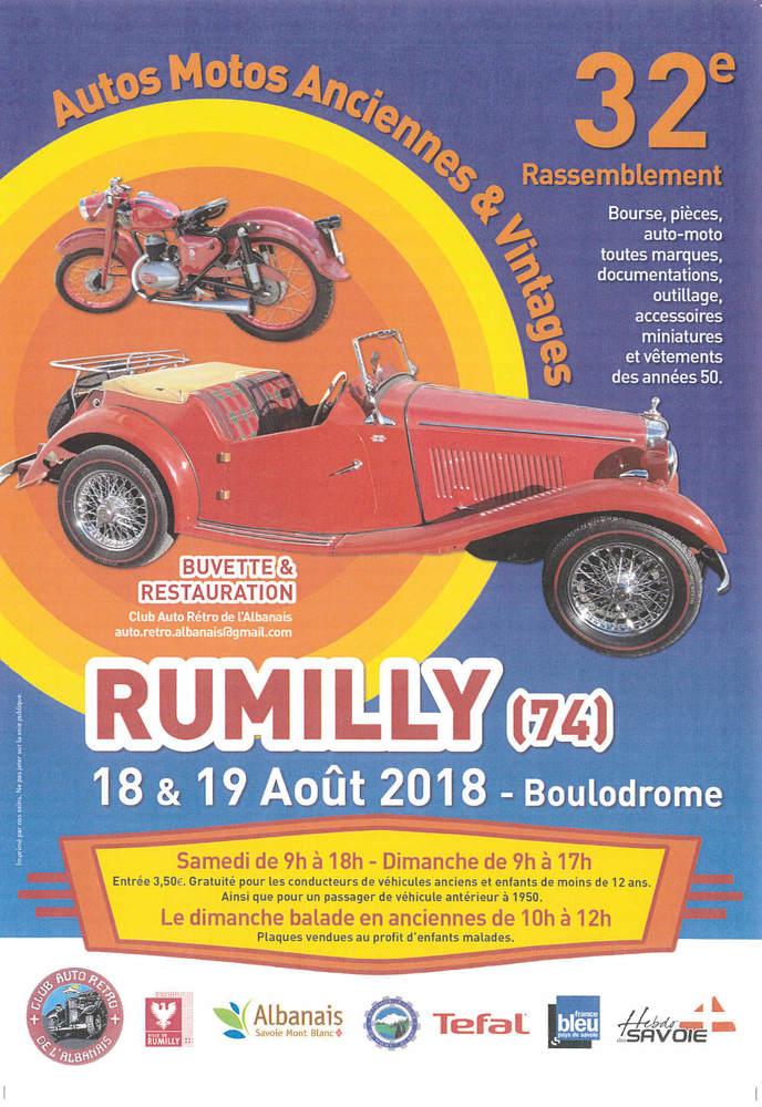 Rassemblement auto moto Rumilly
