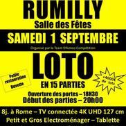 Loto à la salle des fêtes de Rumilly