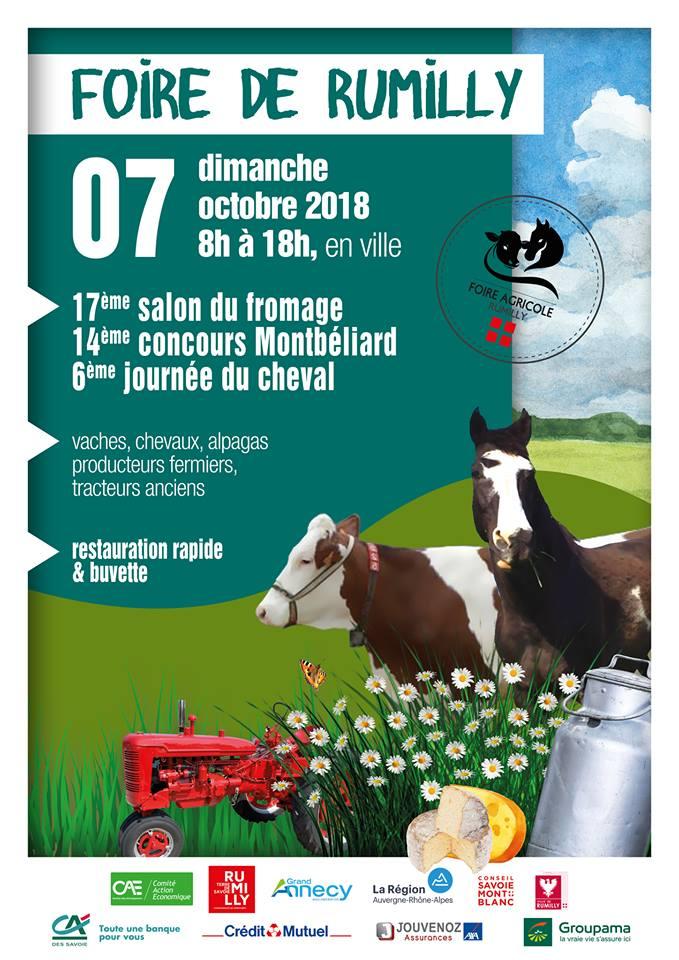 Foire agricole de Rumilly
