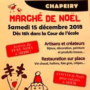 Marché de Noël de Chapeiry