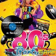 Soirée années 80 et karaoké au Marilyn