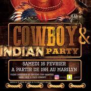 Cowboy & indian party au Marilyn