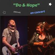 Apéro musical folk rock avec Do&Hope