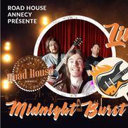 Concert live avec Midnight Burst au Road House
