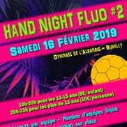 Tournoi de handball fluo à Rumilly
