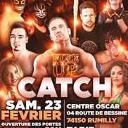Show de catch Fire Up à Rumilly