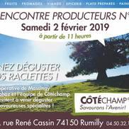 Rencontre des producteurs au magasin Côtéchamp à Rumilly
