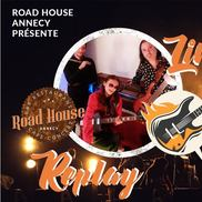 Concert au Road House avec Replay, Rock Story