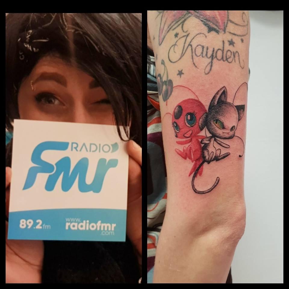 Kitty Red Tattoo