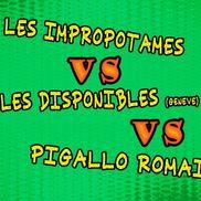 Théâtre d'impro : Impropotames vs Genève vs Paris