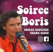 Soirée disco Boris à l'Alibi