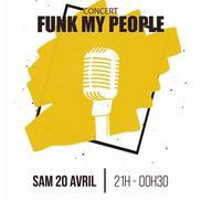 Concert Funk my people à l'Alibi