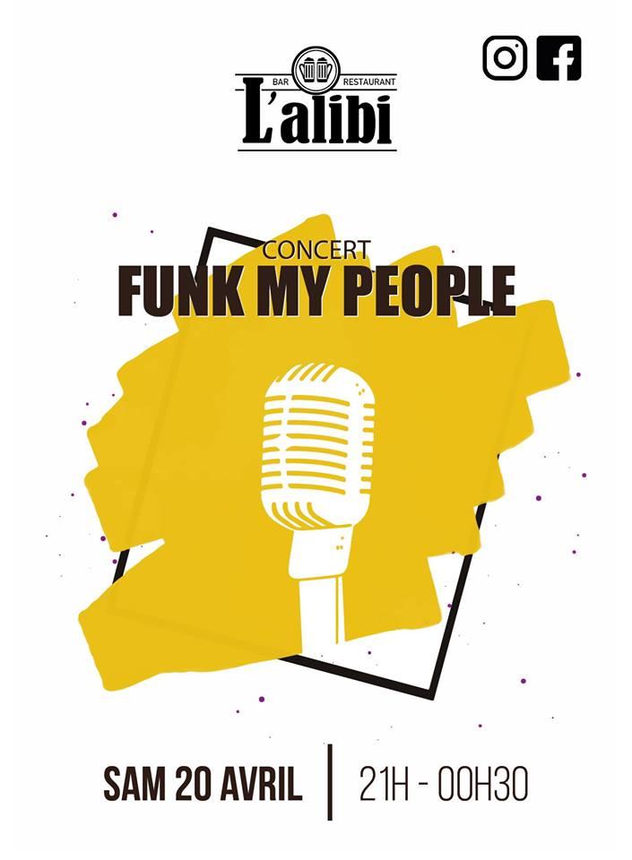 Concert Funk my People l'Alibi