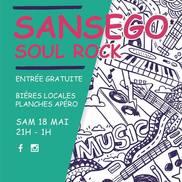 Concert Sansego à l'Alibi