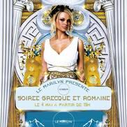 Soirée Grecque et Romaine au Marilyn
