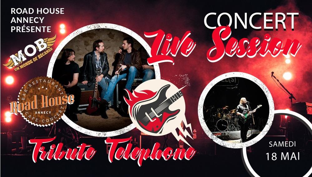 Concert tribute Téléphone