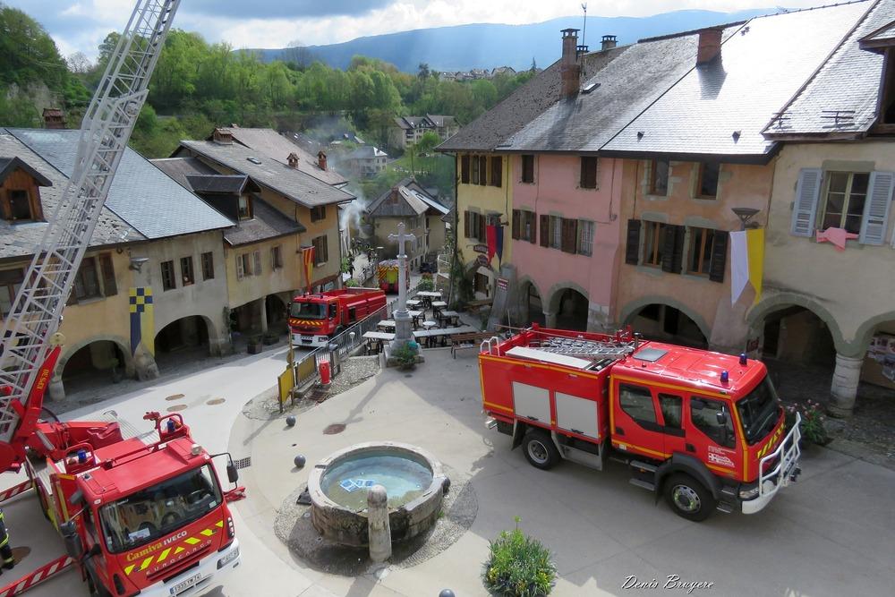 Pompiers Alby sur Chéran
