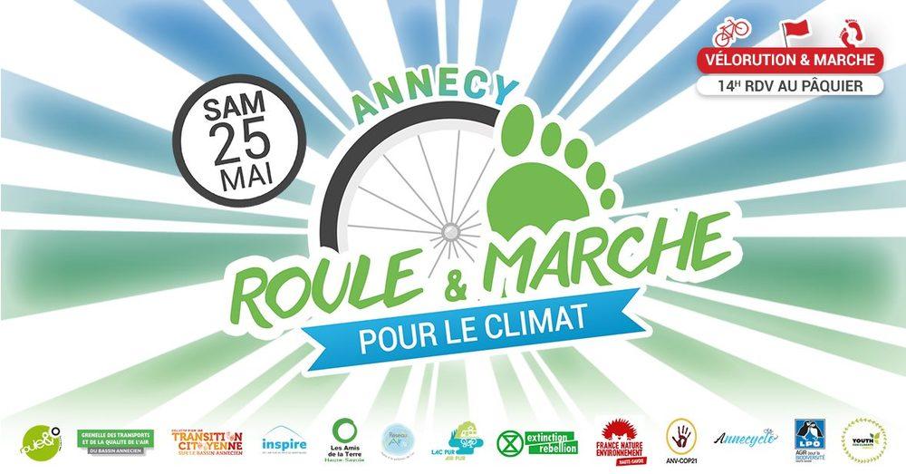 Marche pour le climat Annecy 25 mai